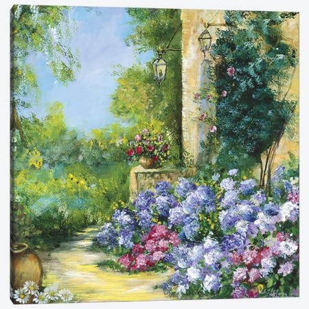 Judith's Garden Canvas Print #INA28} by Katharina Schöttler Canvas Wall Art
