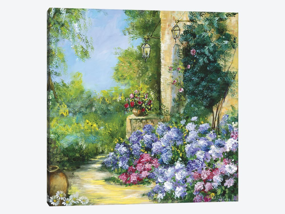 Judith's Garden 1-piece Canvas Art Print