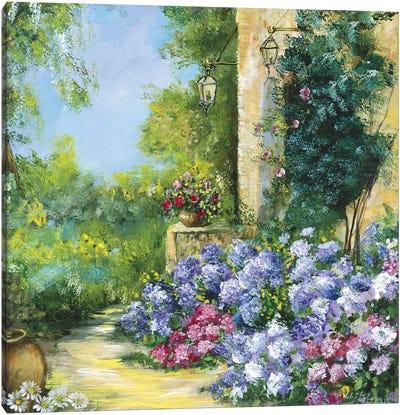 Judith's Garden Canvas Art Print