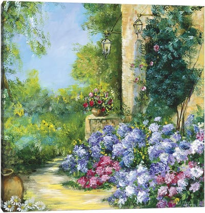 Judith's Garden Canvas Art Print
