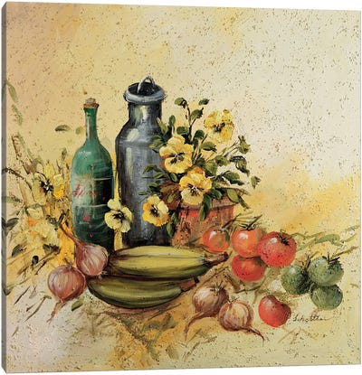 Mediterranean Comp. I Canvas Art Print