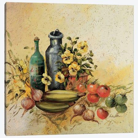 Mediterranean Comp. I Canvas Print #INA31} by Katharina Schöttler Art Print