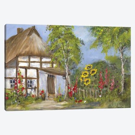 Old Farmhouse I Canvas Print #INA34} by Katharina Schöttler Canvas Artwork