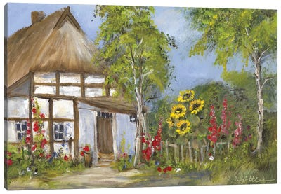 Old Farmhouse I Canvas Art Print