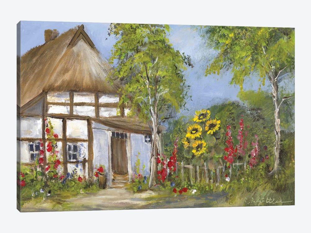 Old Farmhouse I by Katharina Schöttler 1-piece Canvas Wall Art