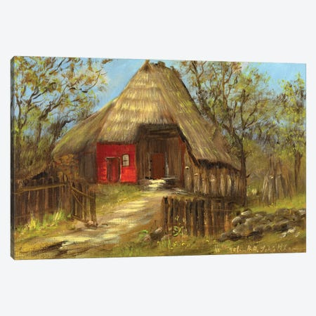 Old Farmhouse II Canvas Print #INA35} by Katharina Schöttler Canvas Artwork