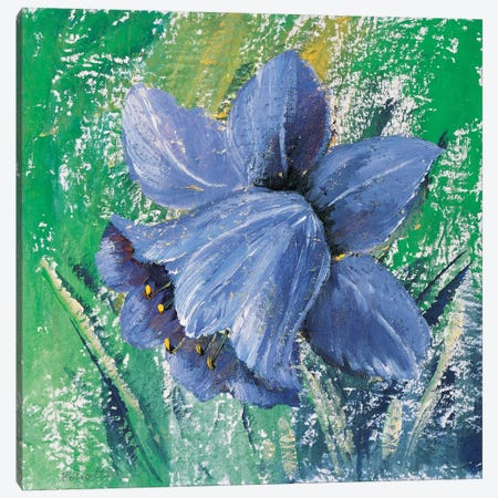 Purple Calyx 3-Piece Canvas #INA38} by Katharina Schöttler Canvas Art Print