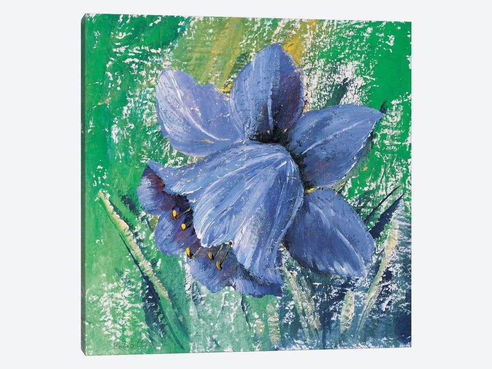 Purple Calyx by Katharina Schöttler 1-piece Canvas Art