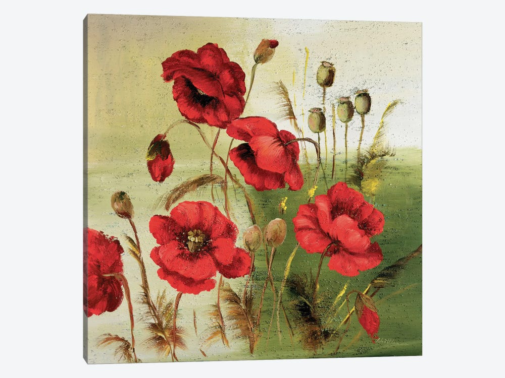 Red Poppies Composition I by Katharina Schöttler 1-piece Art Print