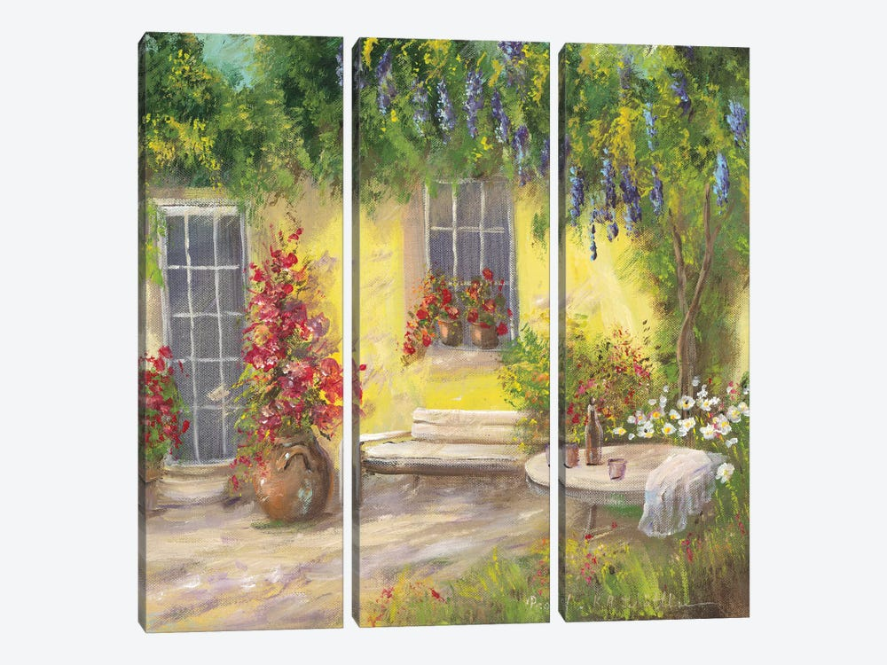 Romantic I by Katharina Schöttler 3-piece Canvas Art Print