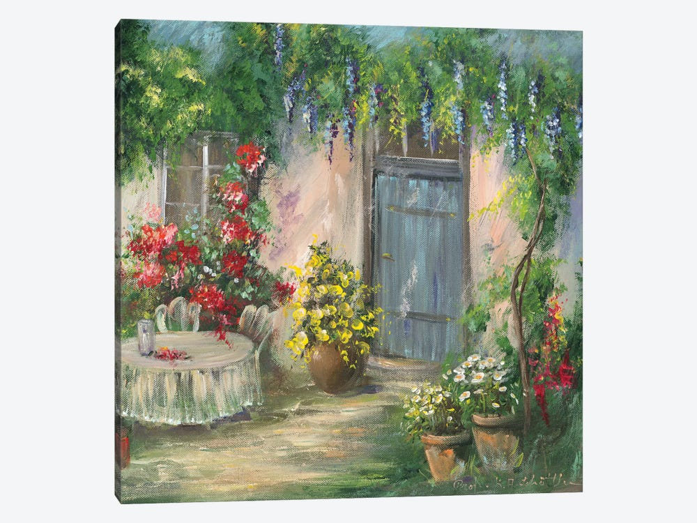 Romantic II by Katharina Schöttler 1-piece Canvas Art
