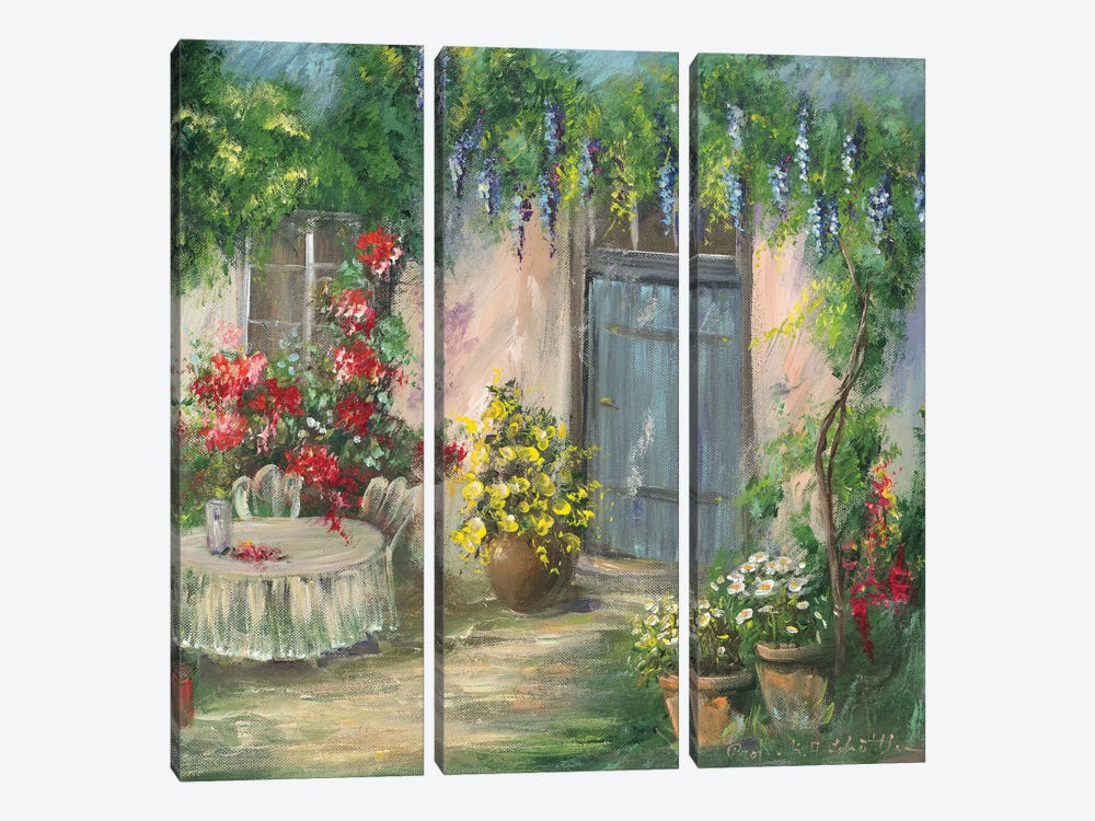 Romantic II by Katharina Schöttler 3-piece Canvas Art