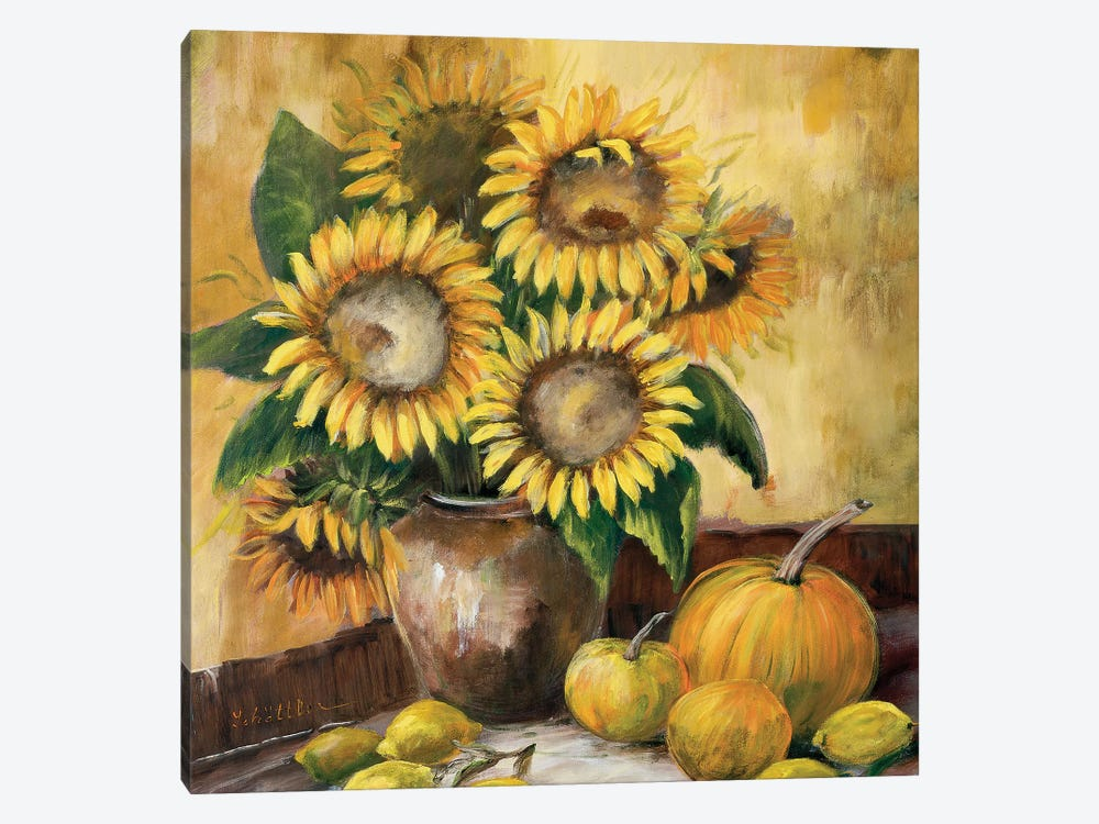 Sunflower Bouquet LV by Katharina Schöttler 1-piece Canvas Art