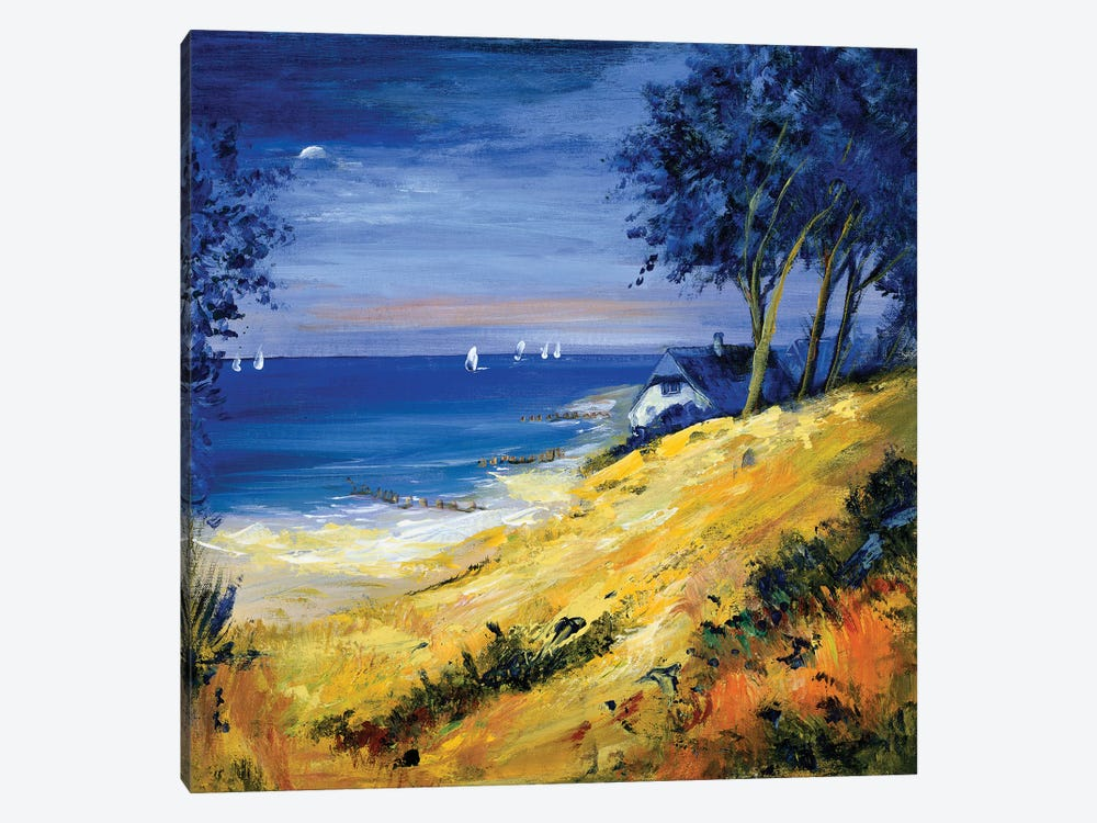 The Sea And Home by Katharina Schöttler 1-piece Canvas Wall Art