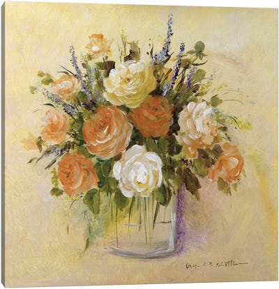 Traditional Bouquet I Canvas Art Print