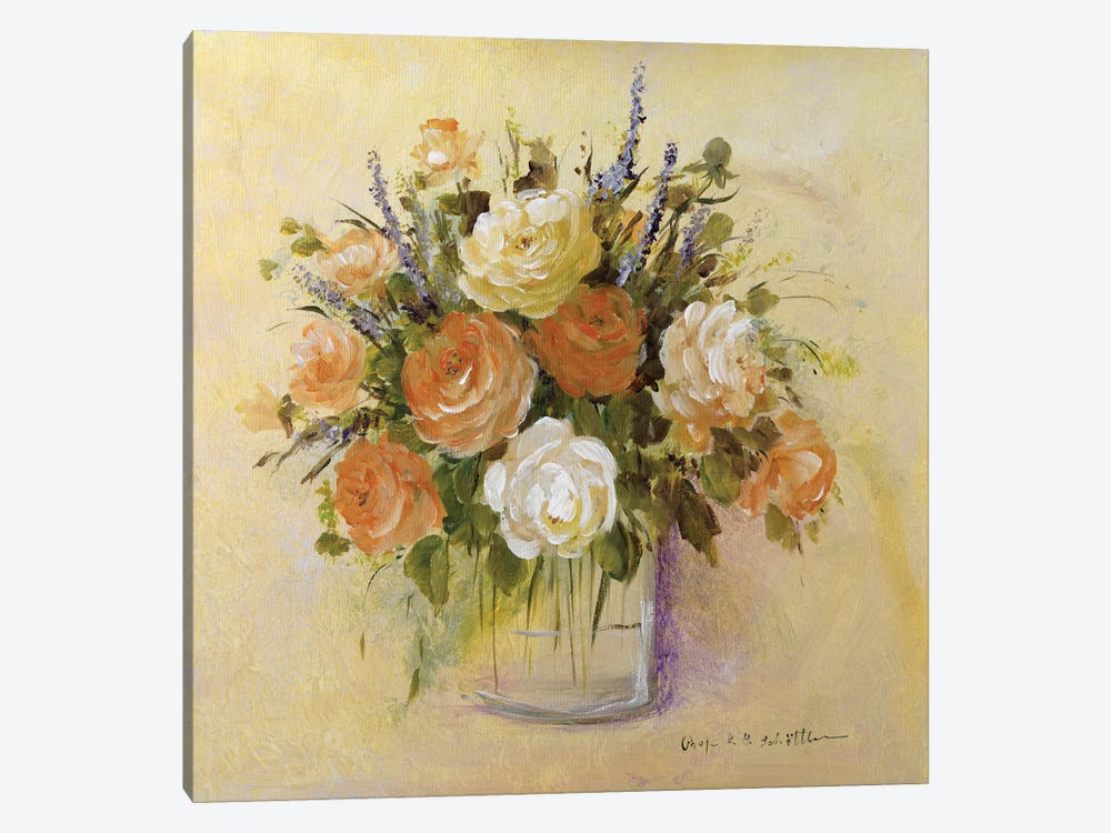 Traditional Bouquet I by Katharina Schöttler 1-piece Canvas Art