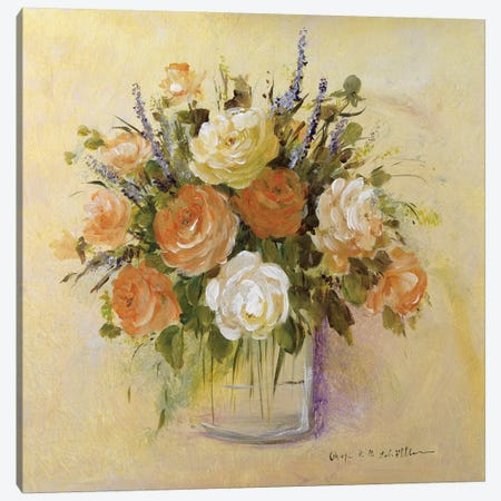 Traditional Bouquet I Canvas Print #INA50} by Katharina Schöttler Canvas Print