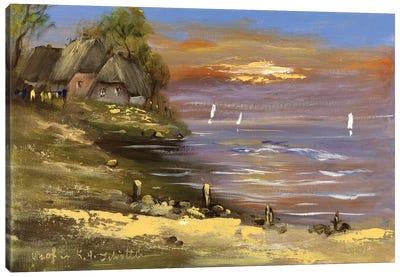 View I Canvas Art Print