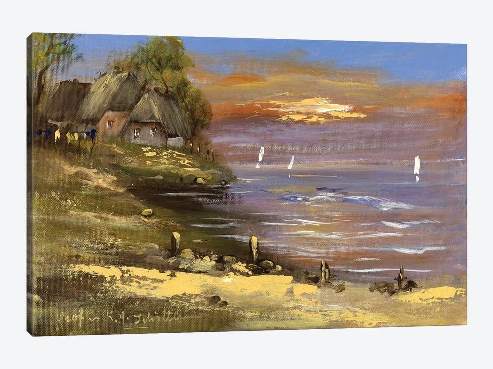 View I by Katharina Schöttler 1-piece Canvas Art