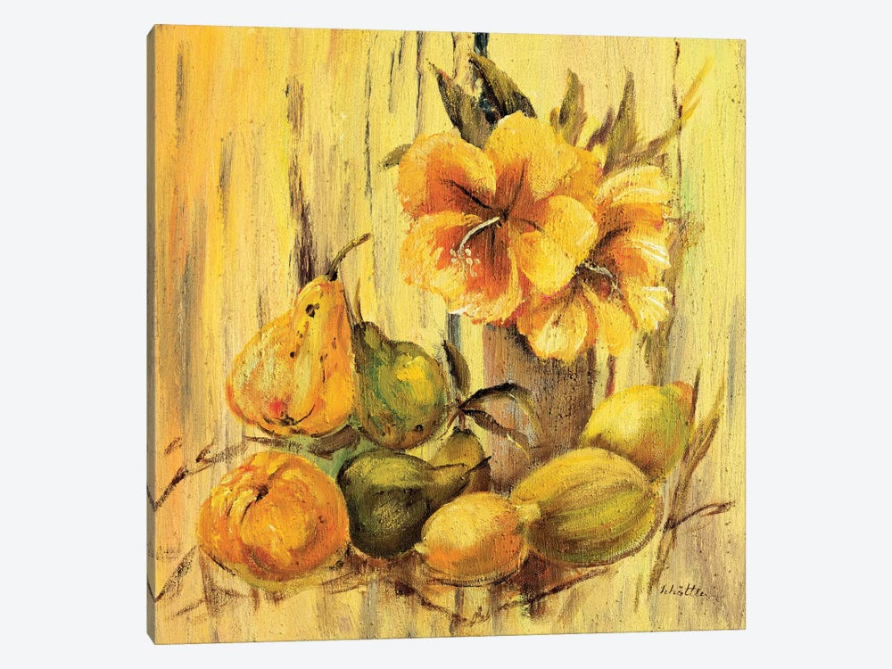 Yellow Creation I 1-piece Canvas Wall Art