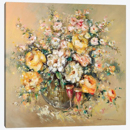 Bouqette Classico I Canvas Print #INA7} by Katharina Schöttler Canvas Print