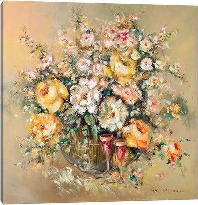 Bouqette Classico I Canvas Art Print
