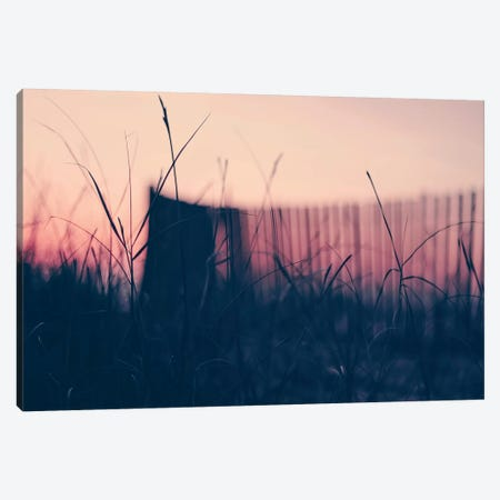 Summer Beach Sunset II Canvas Print #INB106} by Ingrid Beddoes Canvas Print
