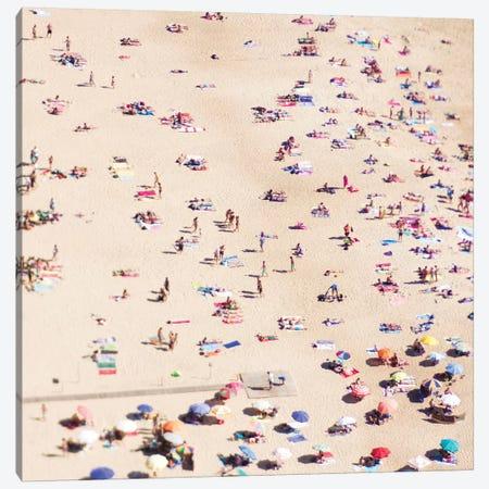 Beach Life Canvas Print #INB10} by Ingrid Beddoes Canvas Artwork