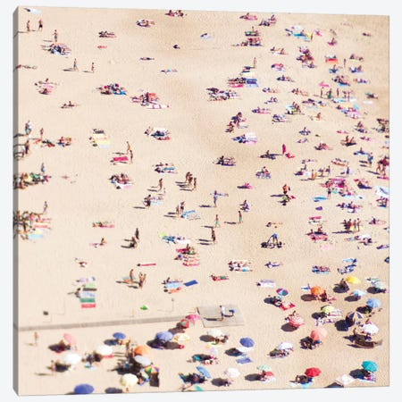Beach Life Canvas Print #INB10} by Ingrid Beddoes Canvas Artwork