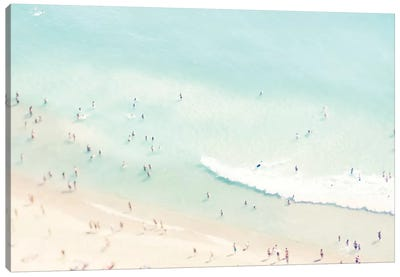 Beach Love I Canvas Art Print
