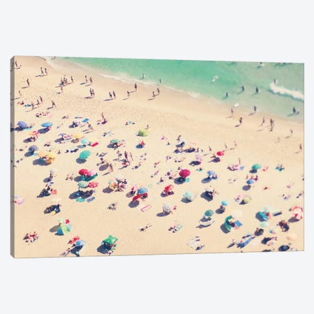 Beach Love III Canvas Print #INB13} by Ingrid Beddoes Canvas Wall Art