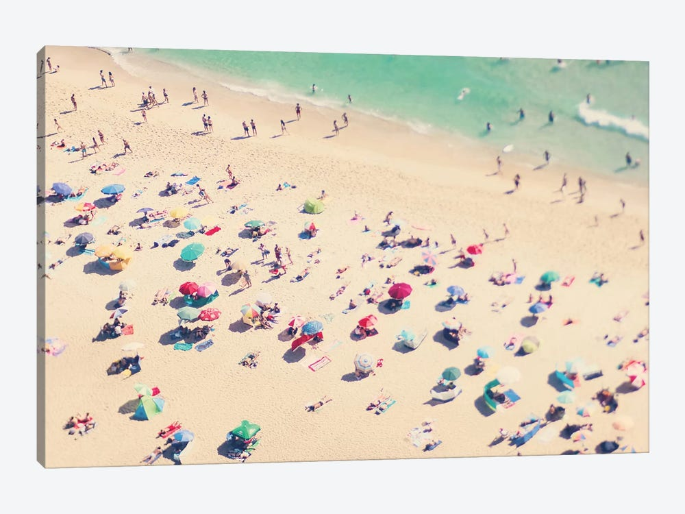 Beach Love III by Ingrid Beddoes 1-piece Art Print