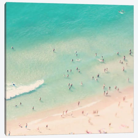 Beach Love IV Canvas Print #INB14} by Ingrid Beddoes Canvas Print