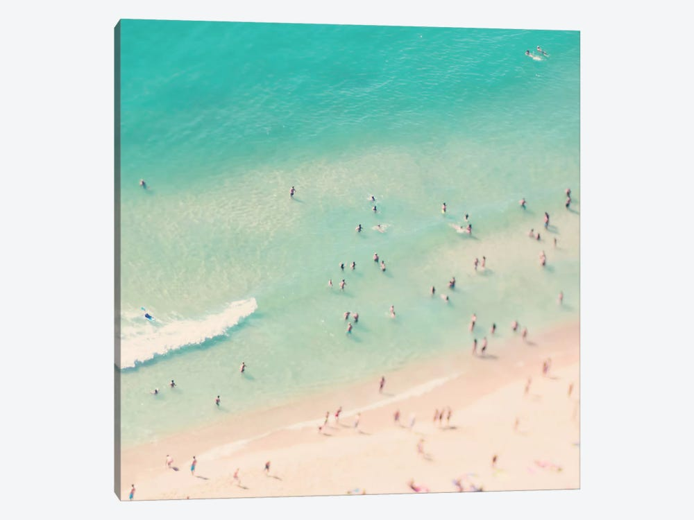 Beach Love IV by Ingrid Beddoes 1-piece Canvas Wall Art