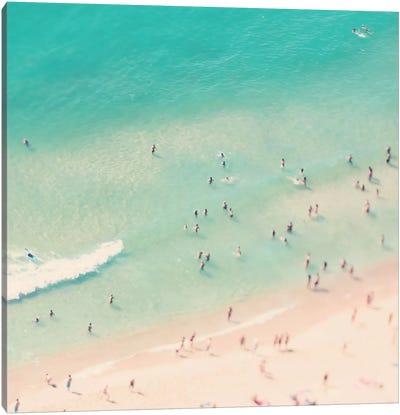 Beach Love IV Canvas Art Print