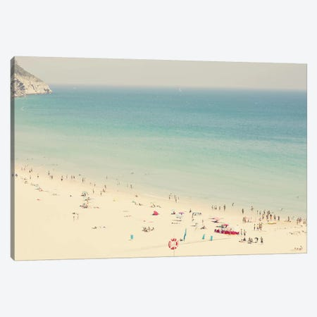 Beach Summer Canvas Print #INB15} by Ingrid Beddoes Canvas Art Print