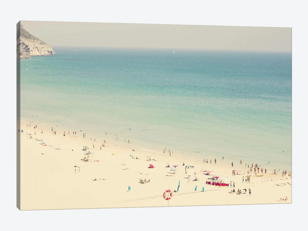 Beach Summer by Ingrid Beddoes 1-piece Canvas Print