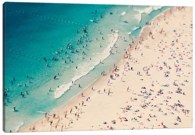 Beach Summer Fun I Canvas Art Print