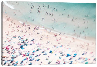 Beach Summer Fun II Canvas Art Print