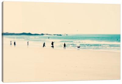 Beach Sunday Canvas Art Print