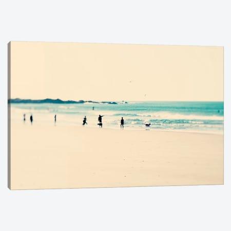 Beach Sunday Canvas Print #INB18} by Ingrid Beddoes Canvas Art