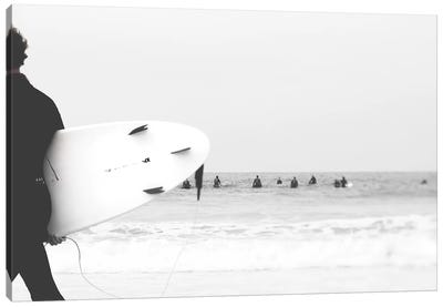 Catch A Wave II Canvas Art Print