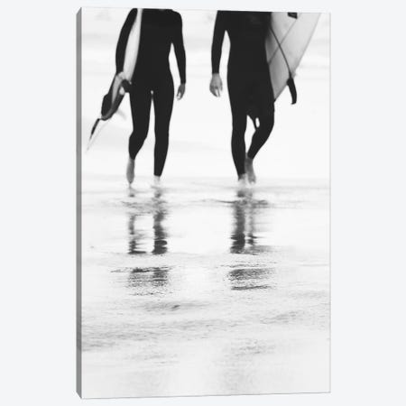 Catch A Wave III Canvas Print #INB30} by Ingrid Beddoes Canvas Artwork