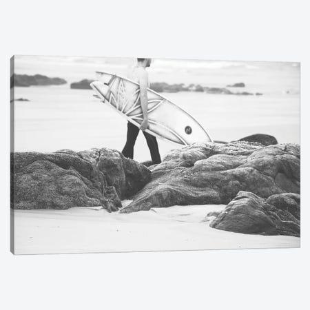 Catch A Wave IV Canvas Print #INB31} by Ingrid Beddoes Canvas Wall Art