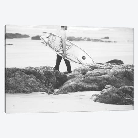 Catch A Wave IV Canvas Print #INB31} by Ingrid Beddoes Canvas Wall Art