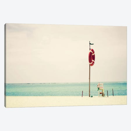 At The Seaside I Canvas Print #INB4} by Ingrid Beddoes Canvas Art