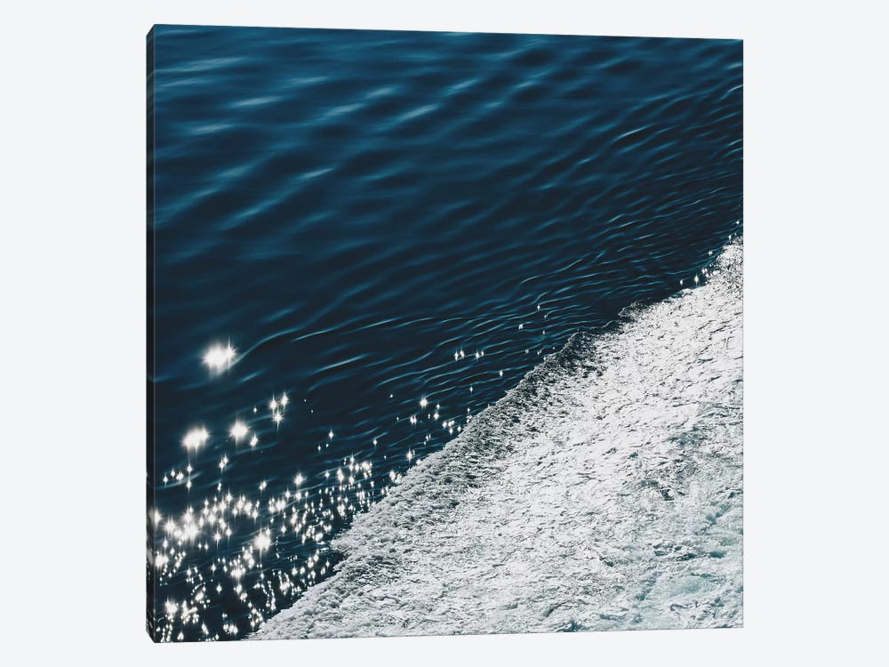 Midnight Blue Ocean by Ingrid Beddoes 1-piece Canvas Art Print