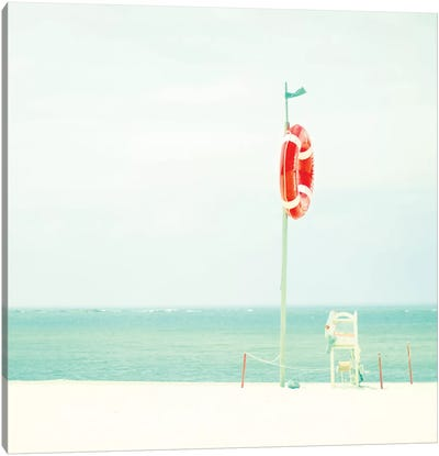 At The Seaside II Canvas Art Print