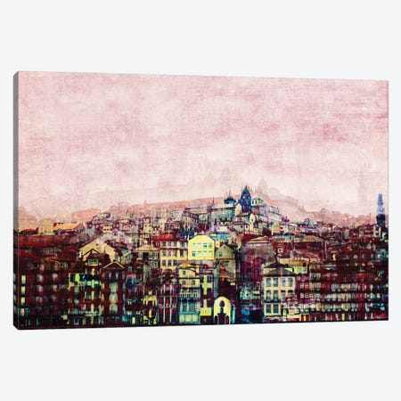 Ribeira Canvas Print #INB64} by Ingrid Beddoes Canvas Art
