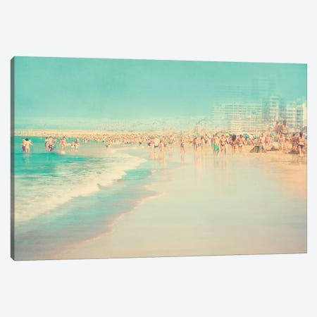 Seaside Canvas Print #INB71} by Ingrid Beddoes Canvas Art